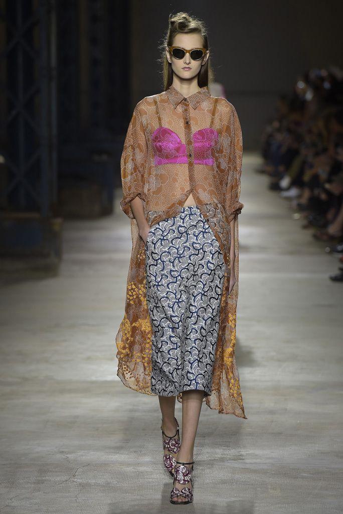 Dries Van Noten RTW, Paris Spring 2016 Trend: Lingerie-Inspired Looks | WWD