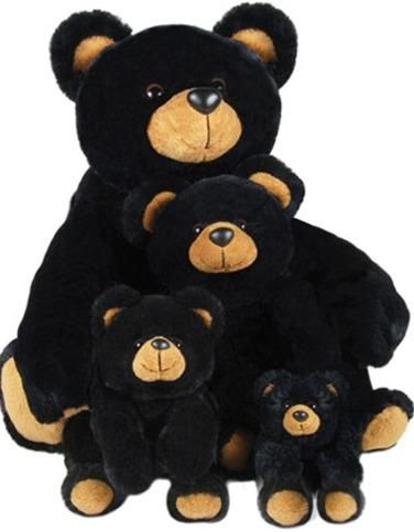 Familia de osos de peluche