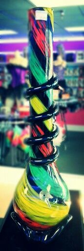 2 ft Rasta colored Water Pipe, $69.99 Naughty N Nice  Lingerie, Novelty, and Smoke Shop