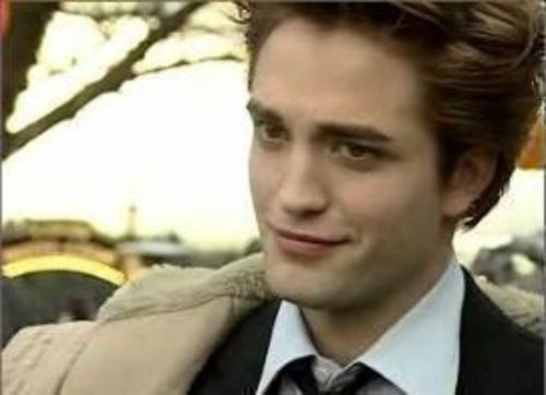I love Edward Cullen. Too bad he's not real.