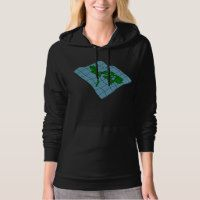 Map Of Philippines Womens Hoodie