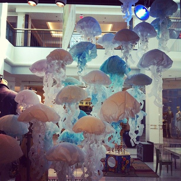 anthropologie earth day 2012 - my thoughts were it would be great for a sea fantasy party