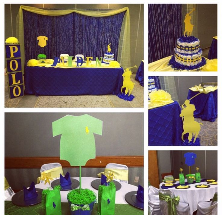 polo themed baby shower themed baby showers boy shower shower ideas