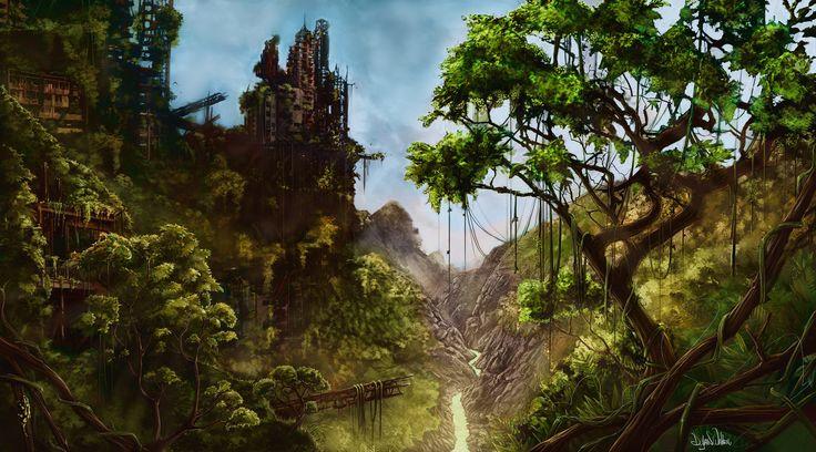 ArtStation - Jungle, Dylan Walker