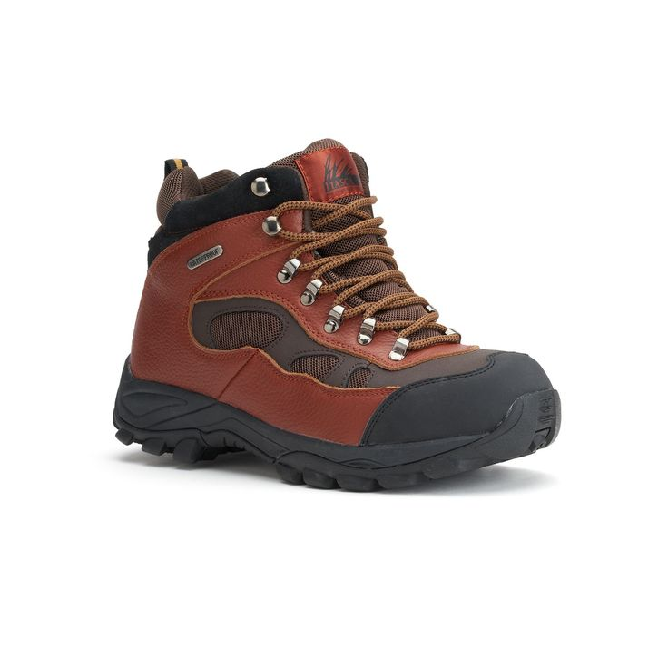 Itasca Contractor Men's Steel-Toe Hiking Boots, Size: medium (11.5), Brown, Durable