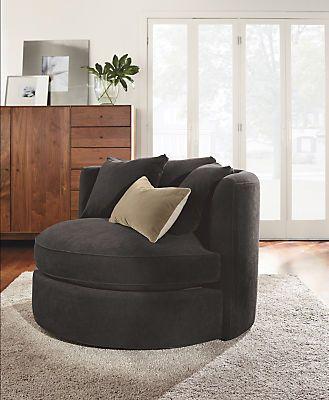 Eos Swivel Chair By Room Board