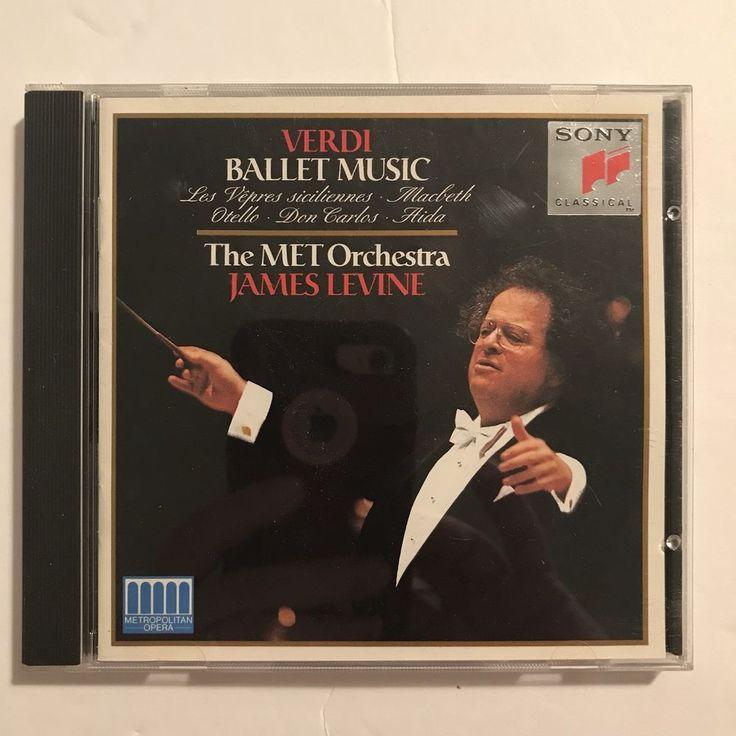 Giuseppe Verdi: Ballet Music (CD, Dec-1993, Sony Music Distribution (USA)) | Music, CDs | eBay!