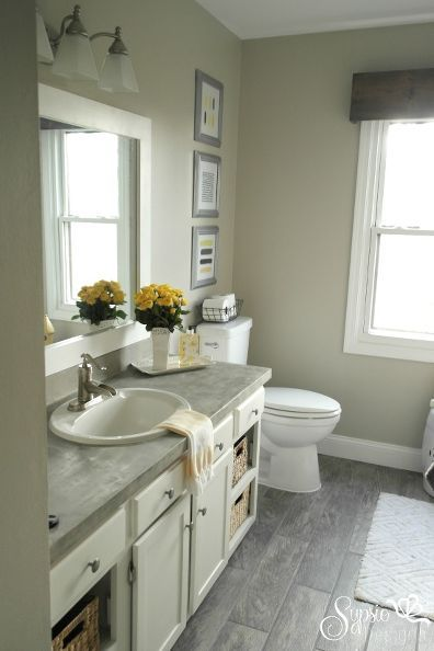 The 25 best Budget bathroom makeovers ideas on Pinterest