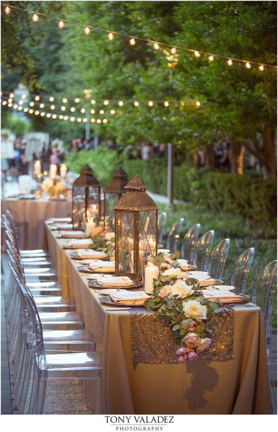 Styled and Planned by Weddings by StarDust   Dallas Wedding Planner   Garden   Table Scape   Floral   Gold   Outdoor Wedding