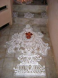 Uthana Dwadashi kolam