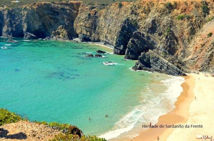 Tonel Beach, near Zambujeira do mar - Portugal