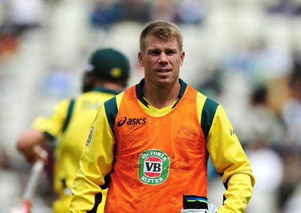 Australia batsman David Warner has been suspended until the first Test of the Ashes and fined £7,000 for his bar-room attack on England's Joe Root.