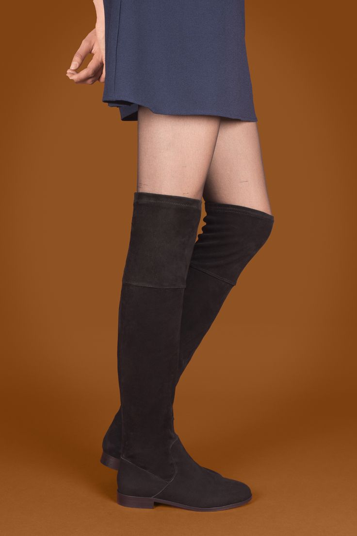Yoda velours noir  #anakiparis #boot #bottes #leather #shoes