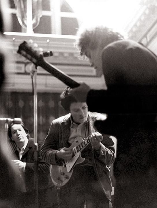 Mr. Mike Bloomfield playing with The Paul Butterfield Blues Band in England in 1966.