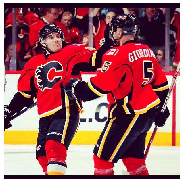 Calgary Flames- Mark Giordano