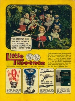 Lovely picture of little tuppence collection