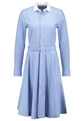 DORI - Sukienka koszulowa - blue/white