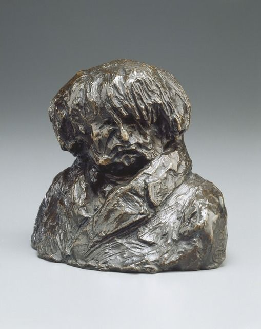 Dr. Clément-François-Victor-Gabriel Prunelle, model c. 1832/1835-cast 1929/1930, by Honoré Daumier BAD HAIR DAY!