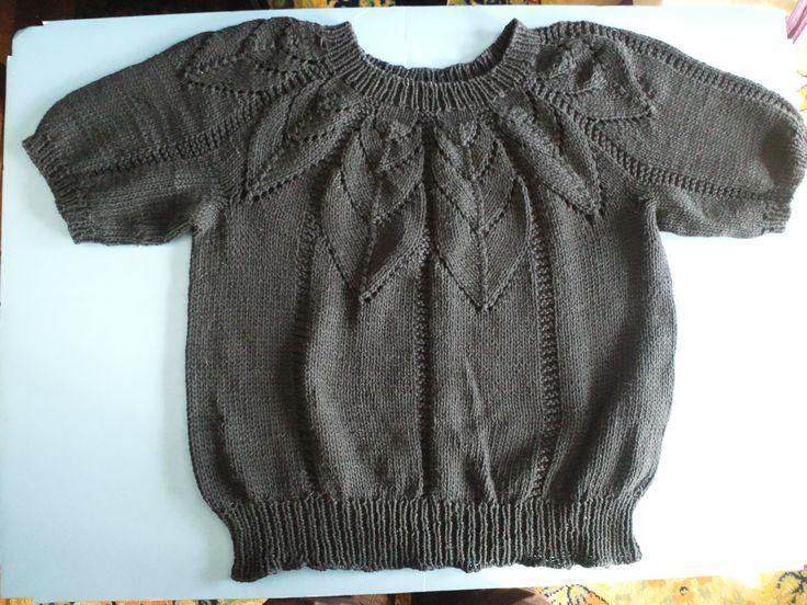 amibabaの作品   セーター/プルオーバー   ステッチステッチ   手芸の ... サマーセーターです。綿100%でさらさら感で着用。