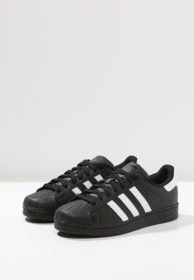adidas Originals SUPERSTAR FOUNDATION - Baskets basses - core black - ZALANDO.BE
