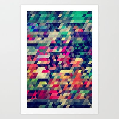 Atym Art Print by Spires - $20.00
