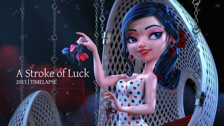 A Struck Of Luck - Time lapse. A stroke of luck or a gift from God  The hand of fate or devil's claws   A small timelapse of the girl I mode...