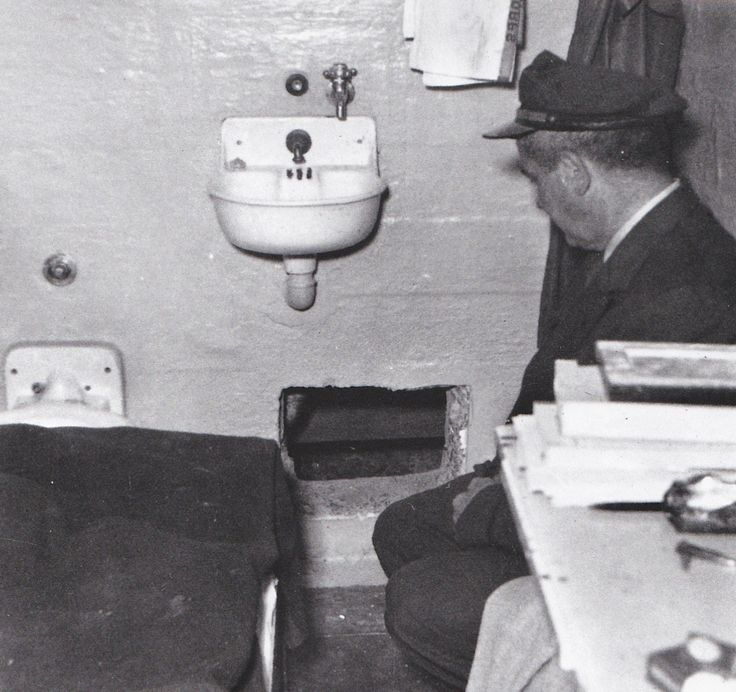 John Anglin's cell and dummy head. No trace was ever found of the Anglin brothers and Morris and it was presumed they had drowned in the strong currents and cold waters of the bay.