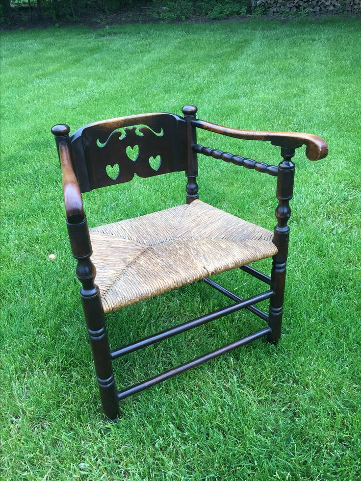 Bought this chair in really shabby condition simply for the Patina .... but lemon oil refreshed it