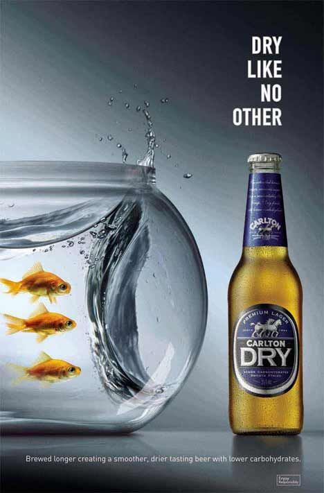 Carlton Dry (I just kinda liked the ad with the fish lol)