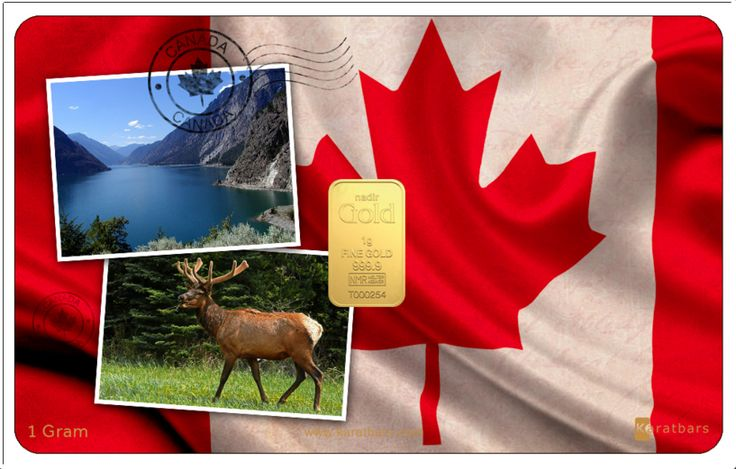 New Edition to the Country Karatbar. Karatbars International has now extended the Country Karatbar section with the uniquely designed Canada card. Get yours today and add another one of a kind Karatbars card to your collection. Every gold bar is: - produced by an LBMA listed manufacturer - 999,9 finest quality gold - imprinted with unique DNA for safety assurance All gold ingots are embedded into Karatbars, which are - Standard credit-card size - $59.96