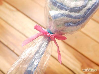 How to Make Washcloth Lollipops -- via wikiHow.com