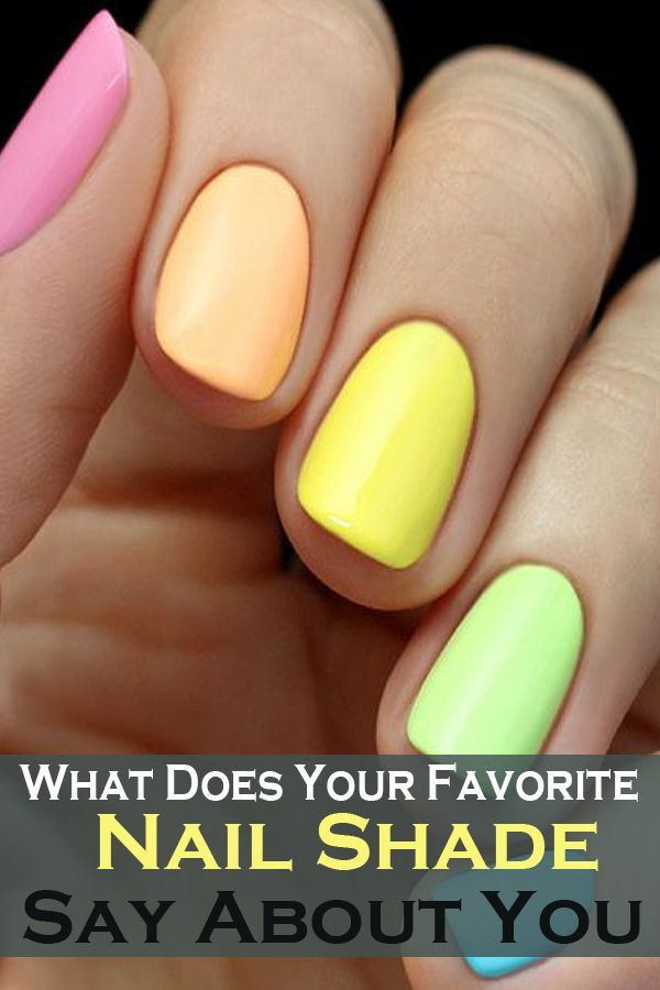 What Does Your Favorite Nail Shade Say About You
