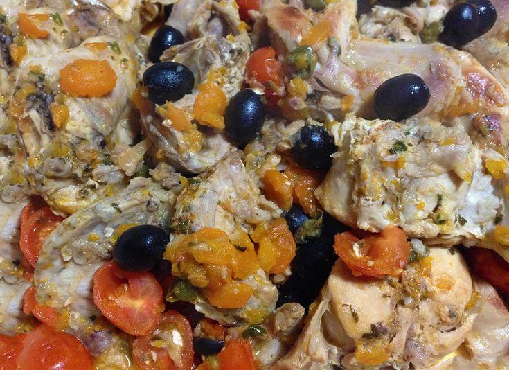 coniglio al forno#ricettedisardegna #sardegna #sardinia #food #recipe #cucinasarda