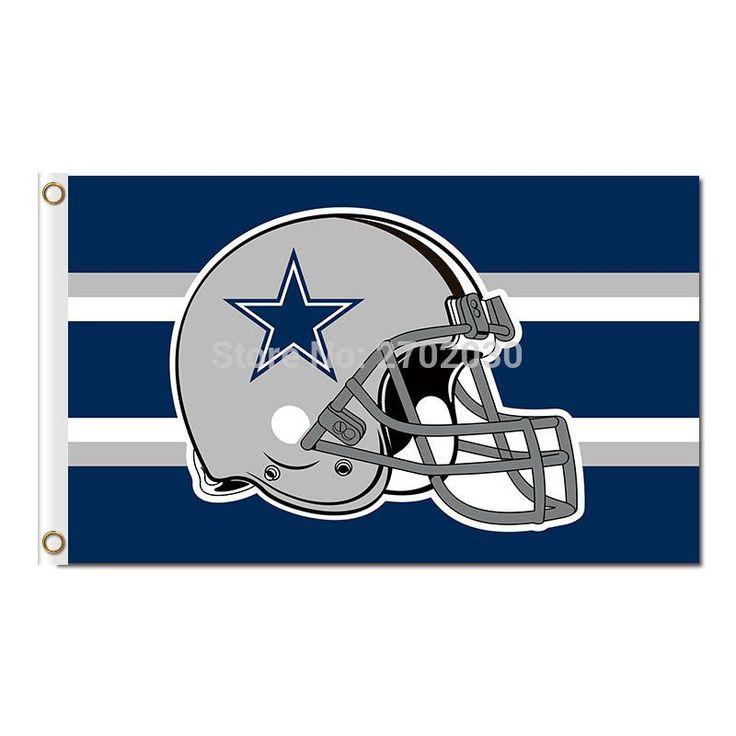 "Dallas Cowboys ""Helmet"" Flag"