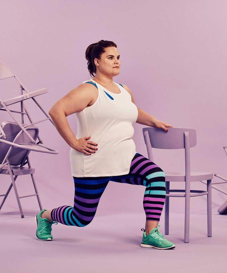 30-Day Fitness Challenge - Chair Exercises Home Workout | This 30-day full-body fitness challenge only requires a chair. #refinery29 http://www.refinery29.com/2016/08/118411/chair-exercises-30-day-fitness-challenge