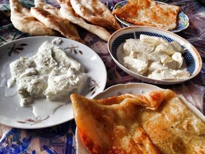 فطور عراقي تقليدي قيمر جبن عرب كاهي صمون By Emad M Mola Food Bakery Breakfast