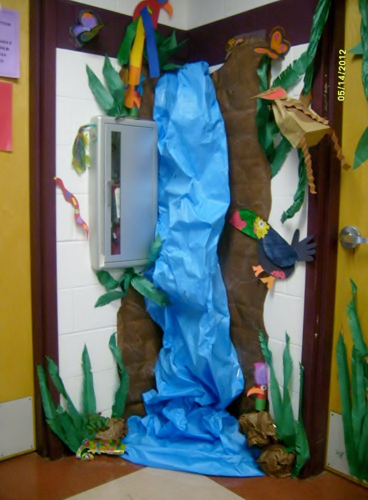 Classroom Waterfall Ideas ~ Best images about rainforest vbs on pinterest trees