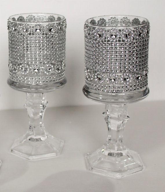 Best ideas about tall glass candle holders on pinterest
