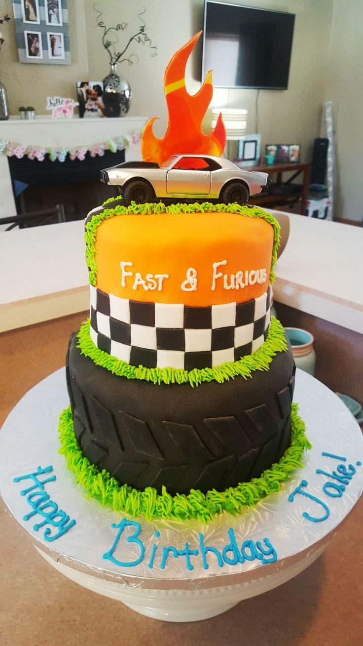 Fast & Furious Cake