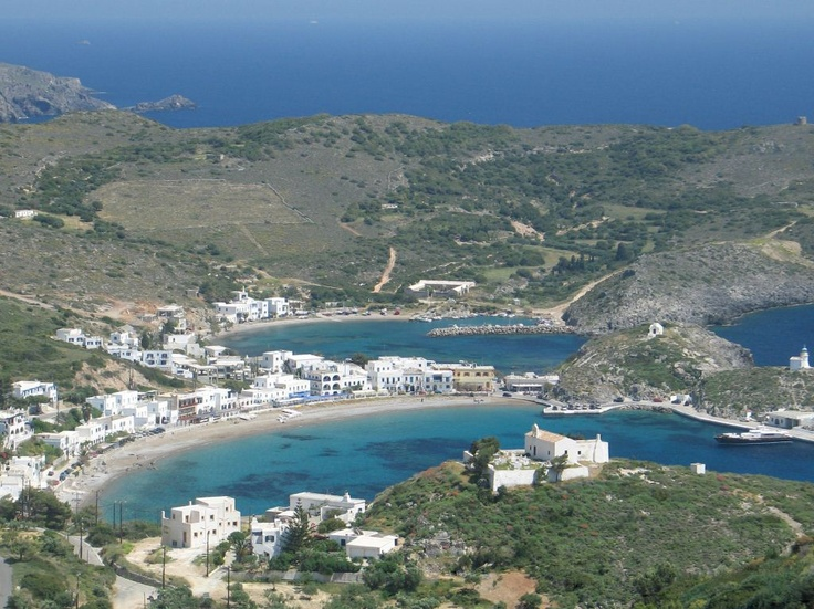 The port of Kythira the capital of Chora