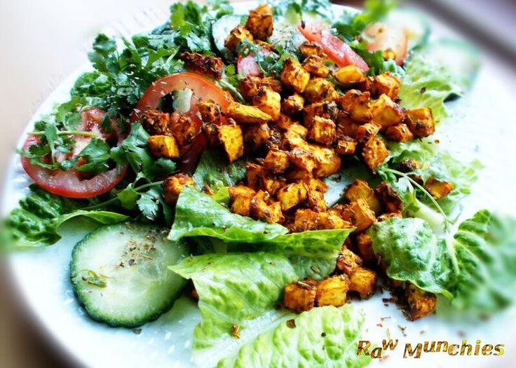 Raw Vegan Zucchini Salad Cubes   Rawmunchies.org  recipe here: rawmunchies.org#recipe #Raw  #rawmunchies #raw #vegan #recipe  #rawvegan #saladcubes #zucchini #zucchinicubes