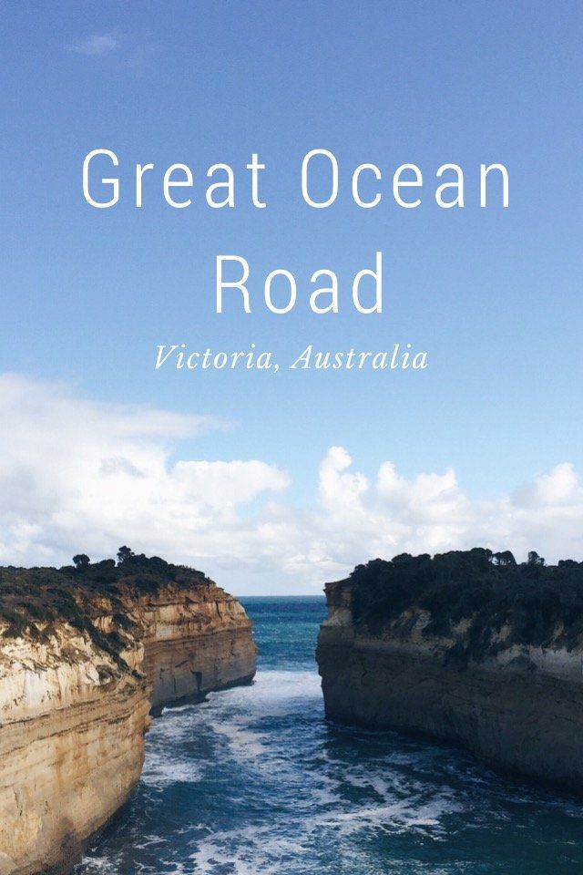 Great Ocean Road Victoria, Australia On my recent trip to Melbourne, I got a chance to travel via the scenic Great Ocean Road, visited the majestic 12 Apostles & went on a helicopter ride. Flying over the Apostles Oops photo's tilted because of the tilting