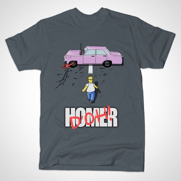 DO'H! T-Shirt - Homer Simpson T-Shirt is $14 today at TeePublic!