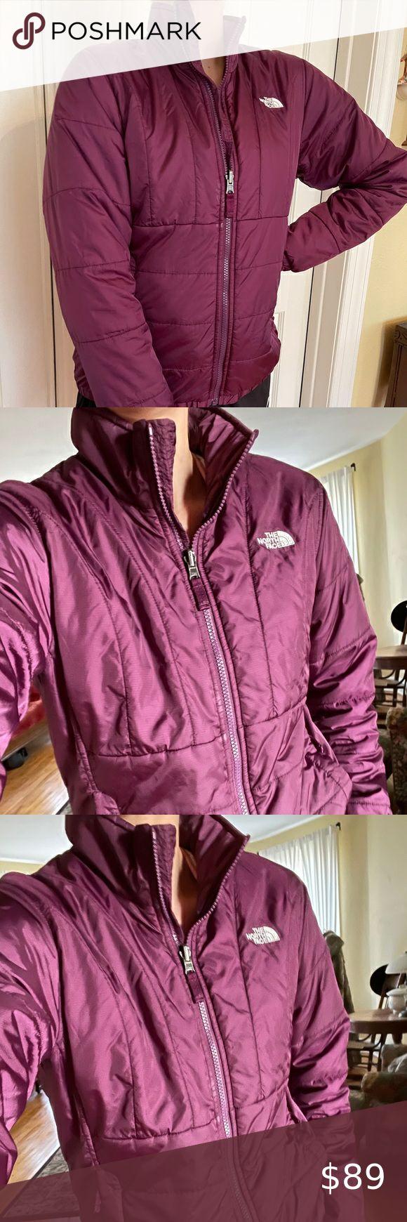 Nearly New North Face Coat Jacket Purple North Face Winter Coat Blue North Face Jacket North Face Coat [ 1740 x 580 Pixel ]