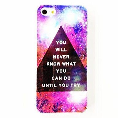 Parola di Charme Punk Triangolo stella Sky modello rigido di plastica per iPhone 4/4S – EUR € 4.59
