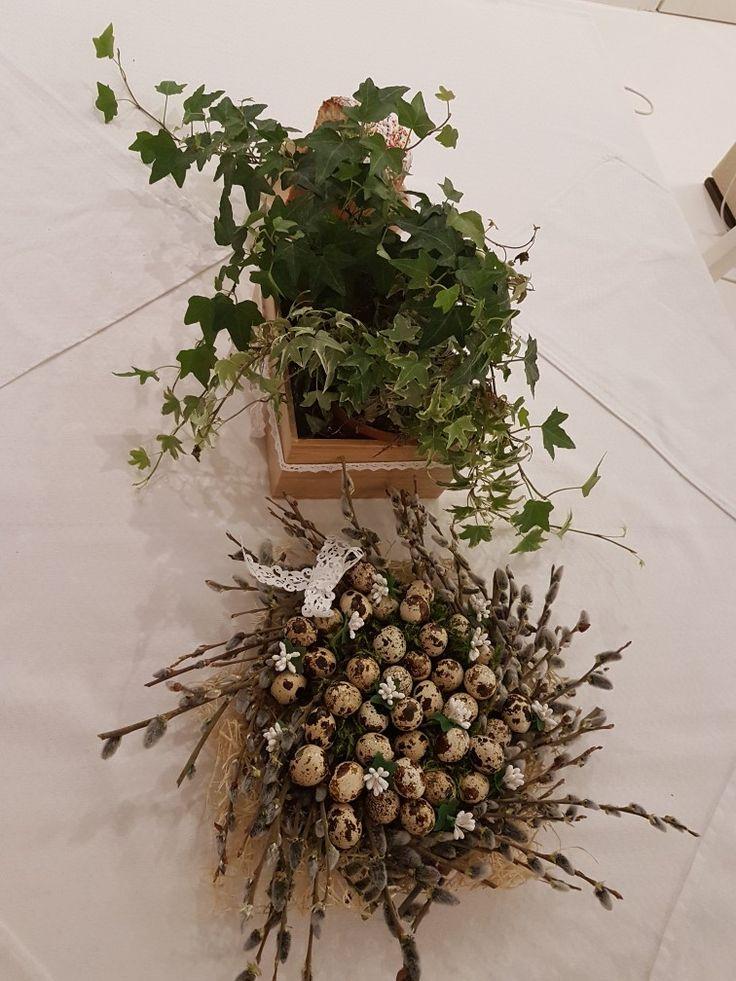 Easter decor.украшение  пасхального  стола 2017 год.