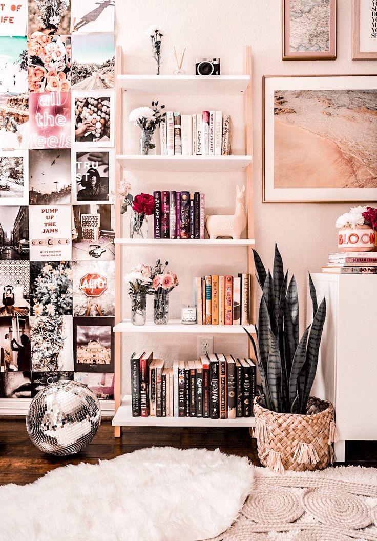 Wohnzimmer Regal Styling-Ideen #ideen #regal #styl…