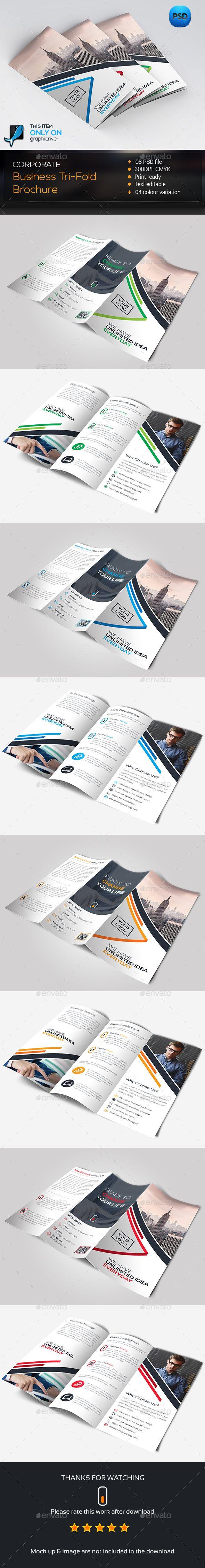 Trifold Brochure Template PSD #design Download: http://graphicriver.net/item/trifold-brochure/14230259?ref=ksioks