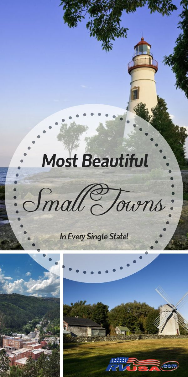 Most Beautiful Small Living Rooms: Check Out The Most Beautiful Small Towns In Every State