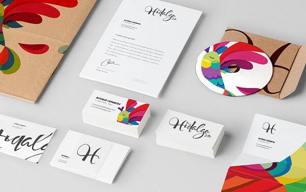 colorful branding
